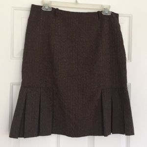 Dresses & Skirts - Gorgeous Speckled chocolate brown skirt